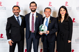 "Pollo Campero USA recibe premio ""Socio Emergente del Año"" por su apoyo a St. Jude Children's Research Hospital"